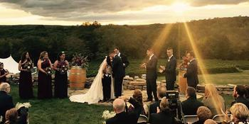 Preston Ridge Vineyard weddings in Preston CT