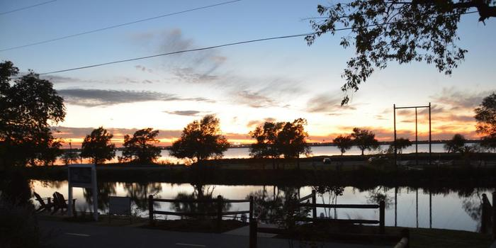 Lake overholser boathouse