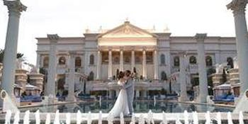 Caesars Palace weddings in Las Vegas NV