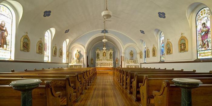 St. Peter and Paul Chapel wedding Des Moines