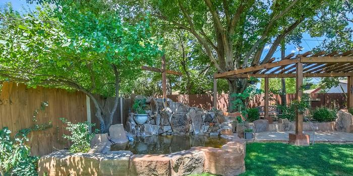 Koinonia Church and Gardens wedding New Mexico