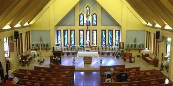 Sacred Hearts Mission Church weddings in Lahaina HI