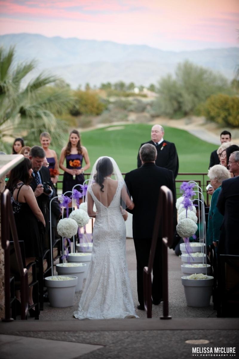 Desert Willow Golf Resort wedding venue picture 10 of 15 - Photo by: Melissa McClure Photography