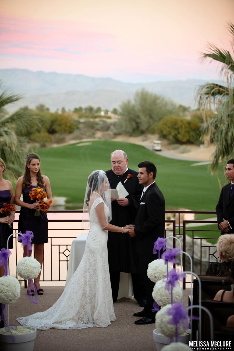 Desert Willow Golf Resort wedding venue picture 9 of 15 - Photo by: Melissa McClure Photography