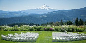 Gorge Crest Vineyards weddings in Underwood OR