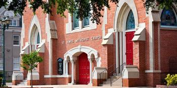 St James United Methodist Church weddings in Augusta GA