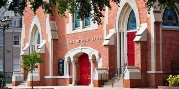 St James United Methodist Church weddings in Augusta GA