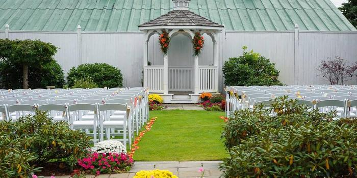 The Evergreen Pavilion at Candia Woods Golf Links wedding Merrimack