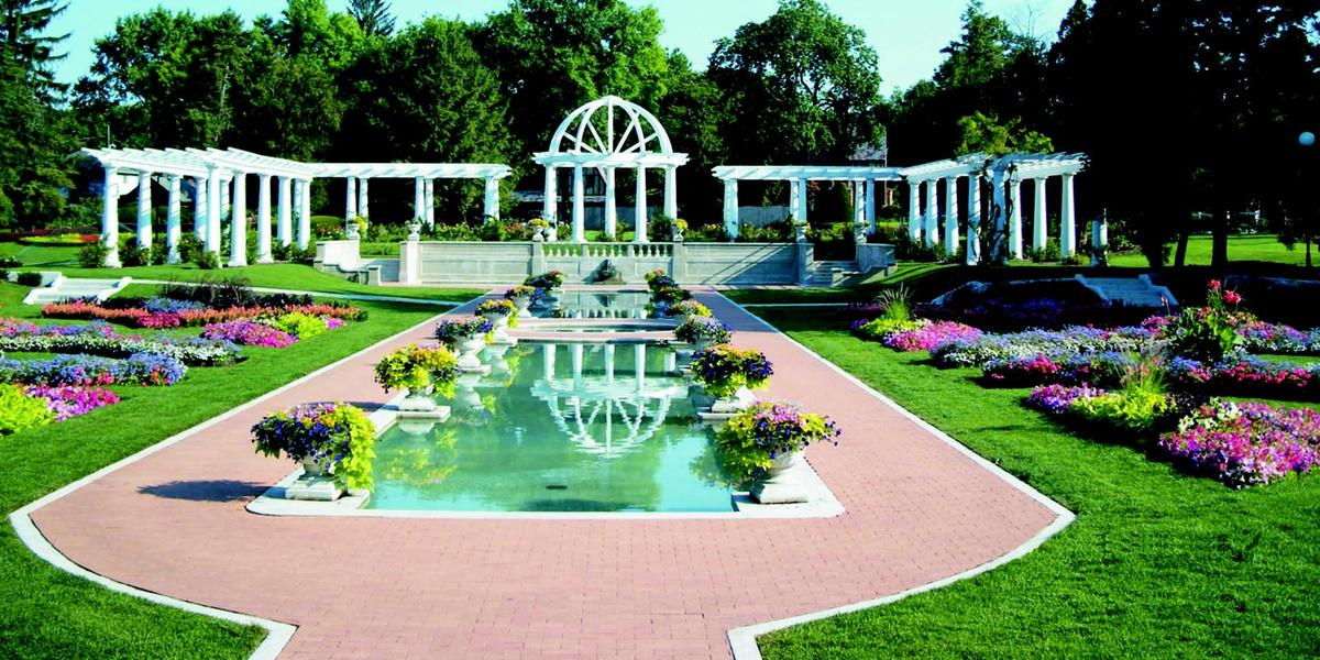 Lakeside park and rose gardenfort wayne indiana garden