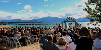 Weddings at Lakeside Beach weddings in South Lake Tahoe CA