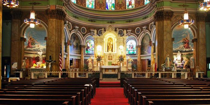 St. Joseph Polish Catholic Apostolate of the Diocese of Camden wedding Central Jersey