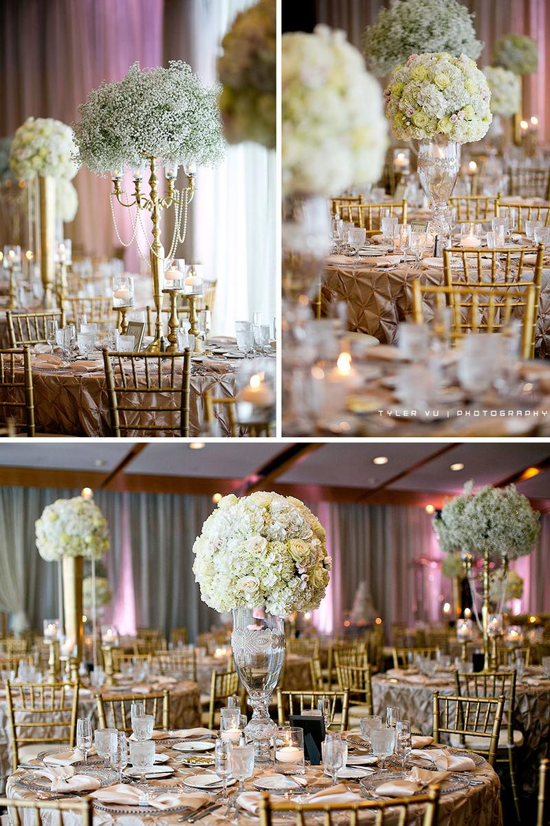 Corinthian Grand Ballroom wedding venue picture 4 of 16 - Photo by: Tyler Vu Photography