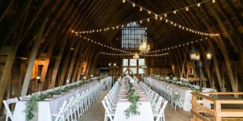 Homestead Barn at Dover Bay weddings in Dover ID