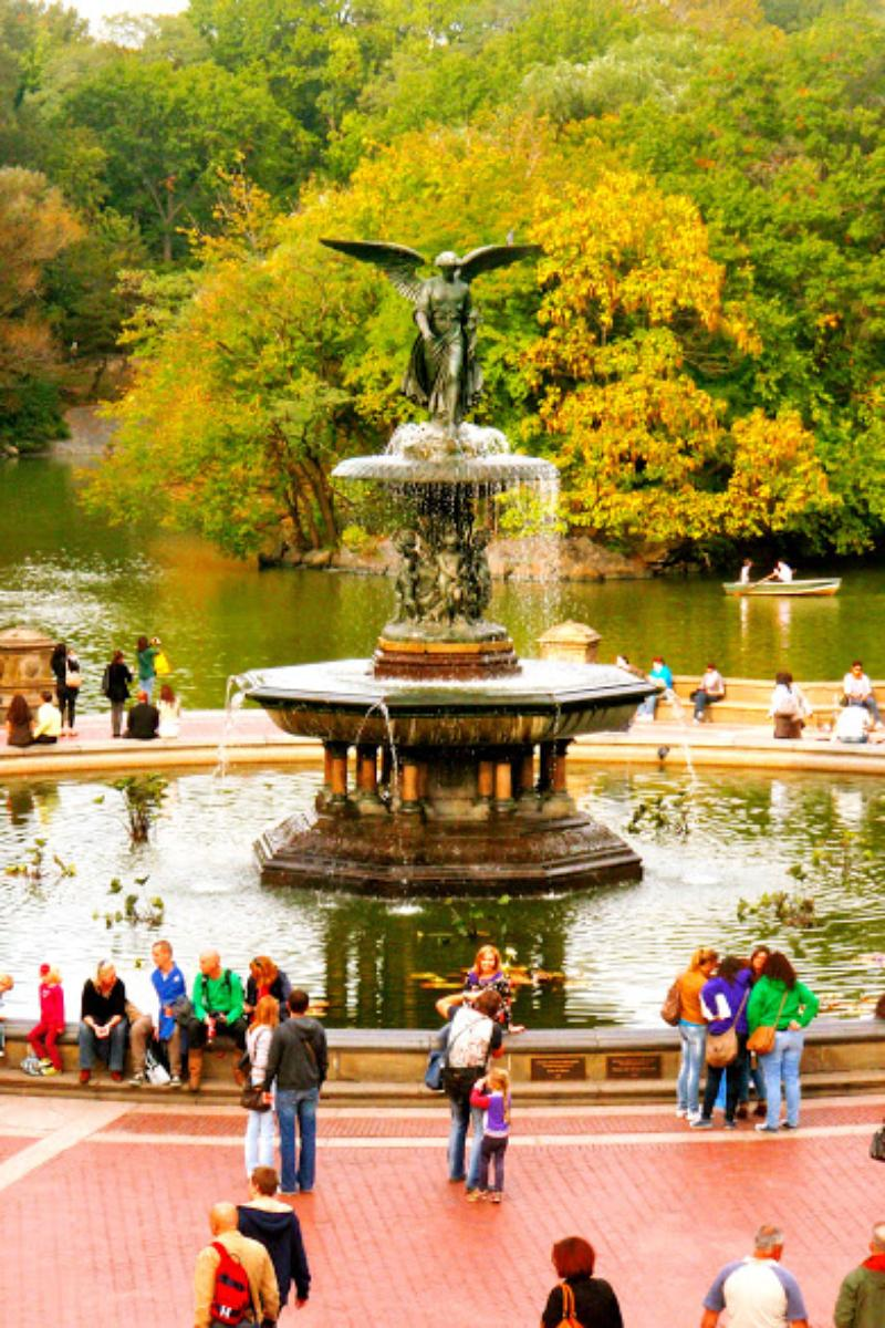 Bethesda fountain weddings get prices for wedding venues for Best wedding venues in new york state
