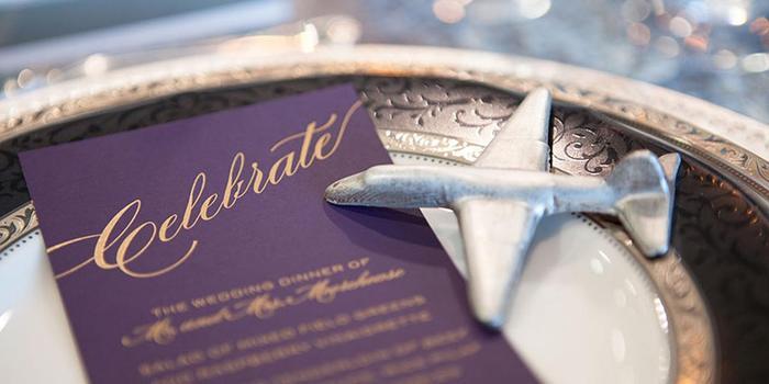Wings Over the Rockies Air & Space Museum wedding Denver
