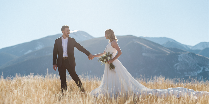 Sage Lodge wedding Montana