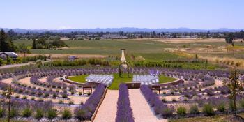 The Lavender Labyrinth and Flower Gardens weddings in Santa Rosa CA
