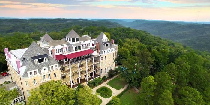 1886 Crescent Hotel & Spa wedding Arkansas