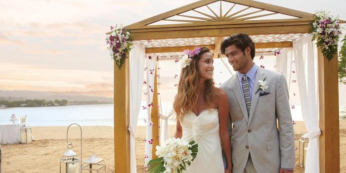Couples Sans Souci wedding Jamaica