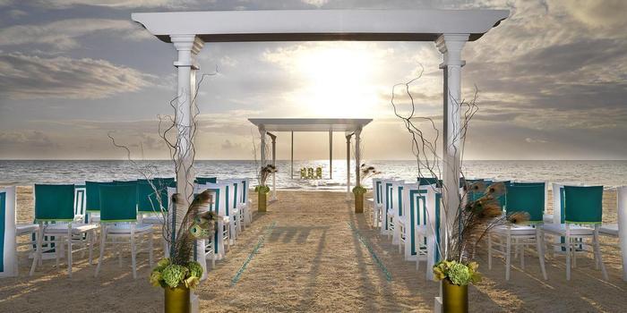 Beach Palace wedding Mexico