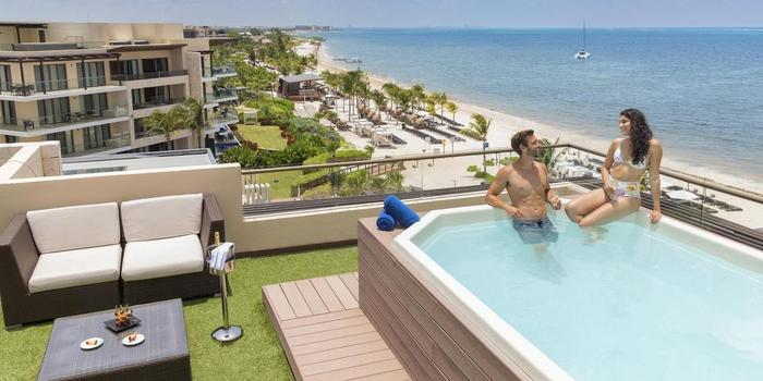 Hideaway at Royalton Riviera Cancun wedding Mexico