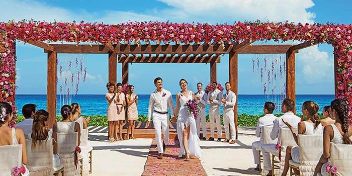 Breathless Riviera Cancun Resort & Spa wedding Mexico