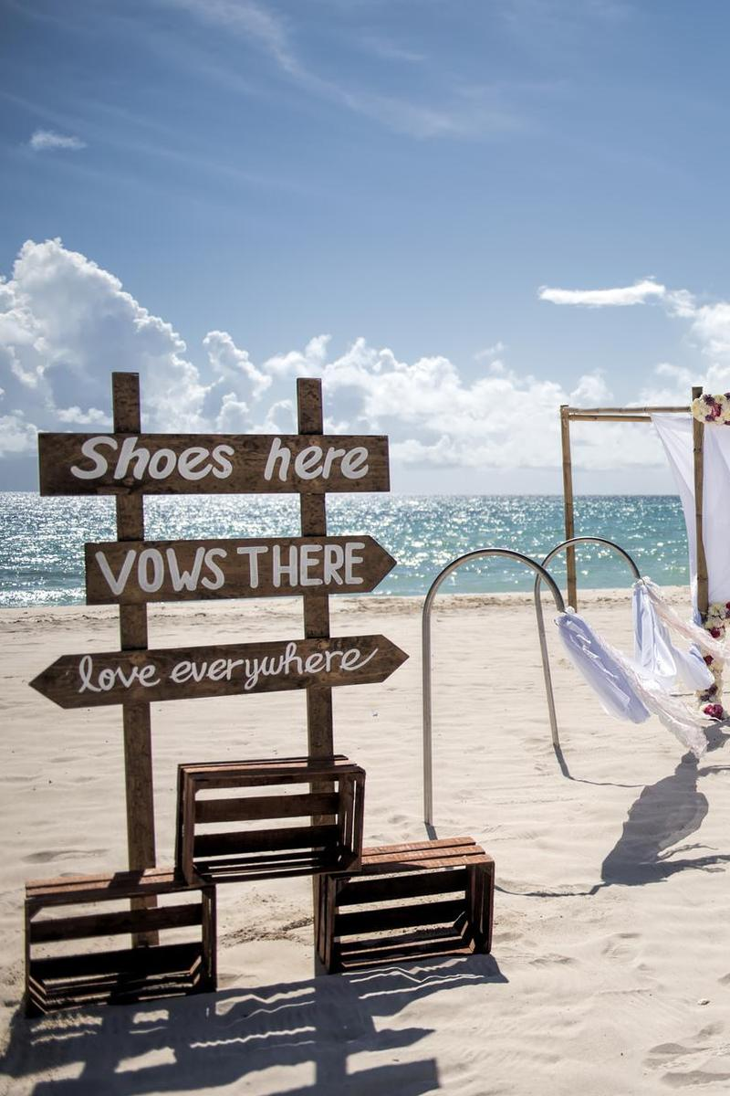 Iberostar Paraiso Beach wedding Mexico