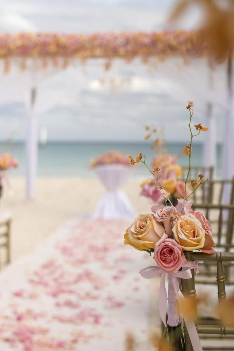 Iberostar Paraiso Maya wedding Mexico