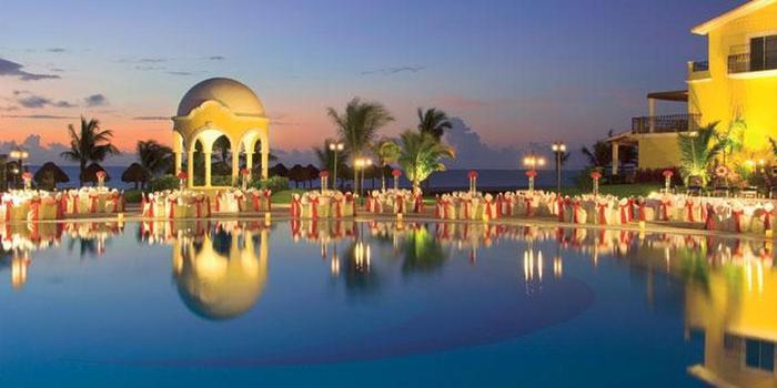 Secrets Capri Riviera Cancun wedding Mexico