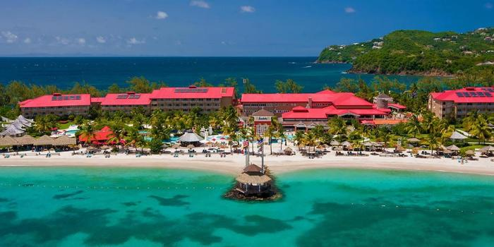 Sandals Grande St. Lucian wedding Caribbean Islands