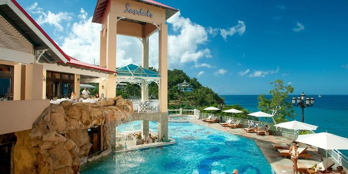 Sandals Regency La Toc Golf Resort & Spa wedding Caribbean Islands
