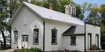 Artesia Schoolhouse weddings in Malone (in Calumetville, near Fond du Lac) WI