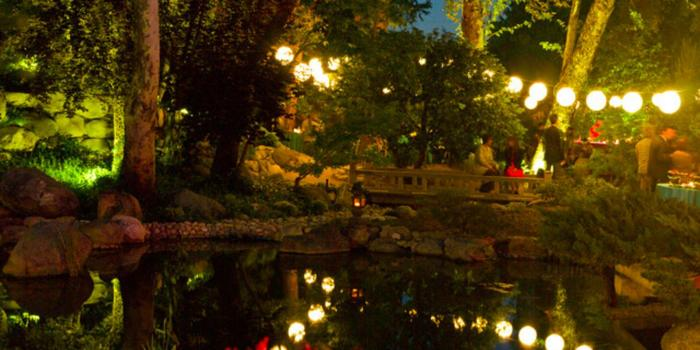 Japanese Garden At Night storrier stearns japanese garden weddings
