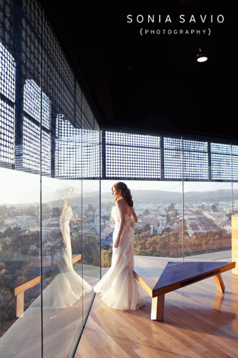 de Young Museum wedding venue picture 16 of 16 - Photo by: Sonia Savio Photography