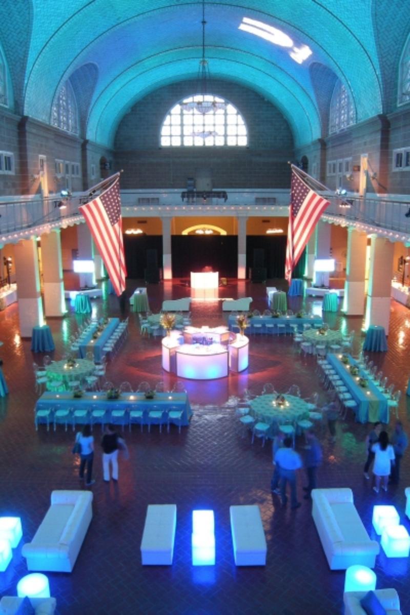 Ellis Island  Statue Of Liberty Weddings - Map of new york ellis island