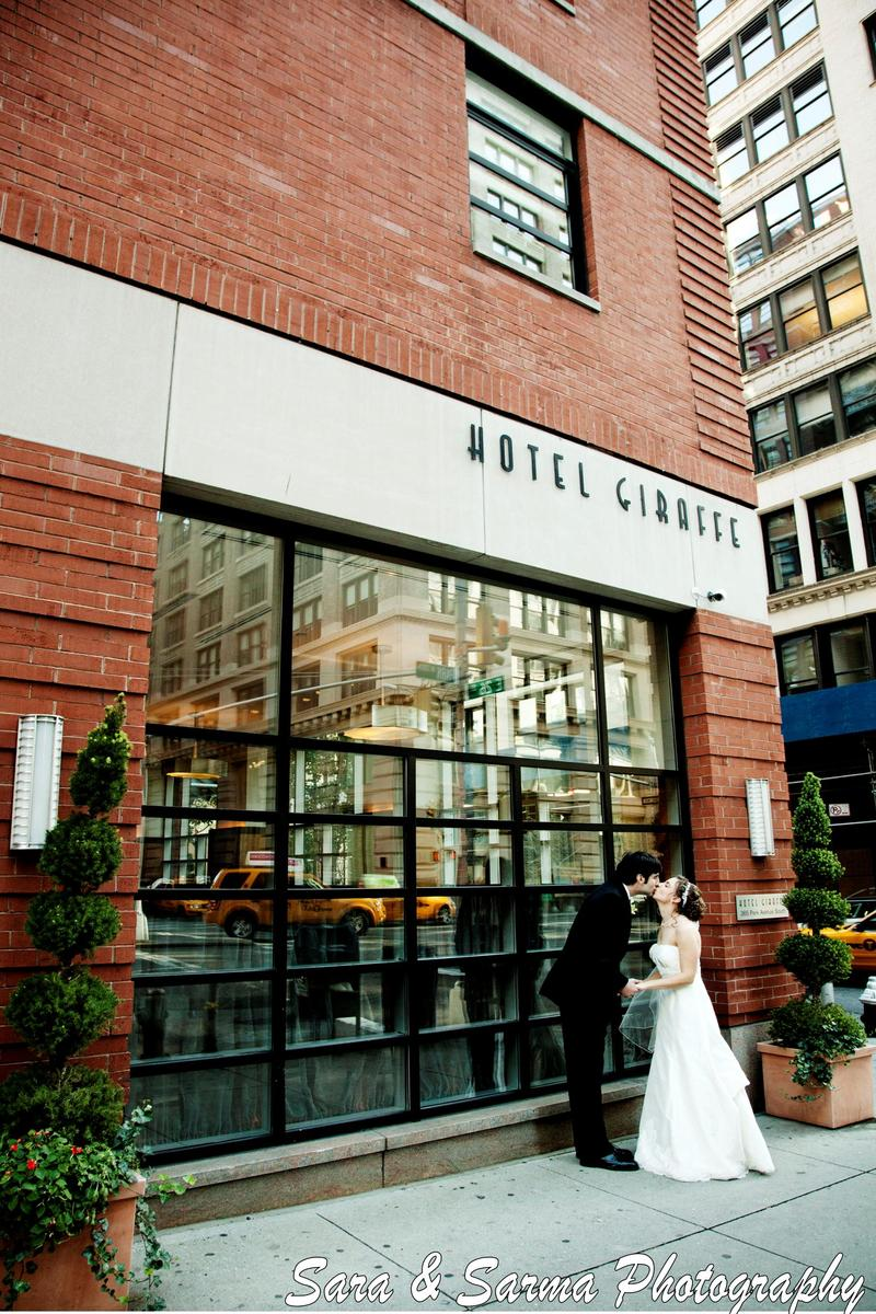 Hotel Giraffe wedding venue picture 7 of 16 - Photo by: Sara & Sarma Photography