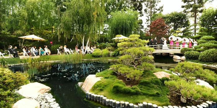 Japanese Garden Cal State Long Beach Wedding