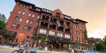 Hotel Boulderado weddings in Boulder CO