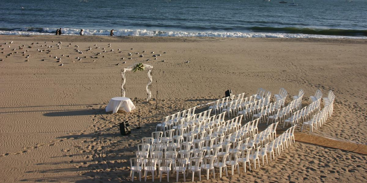 East beach cabrillo west beach weddings for East coast beach wedding locations