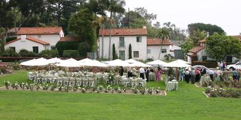 Mission Rose Garden weddings in Santa Barbara CA