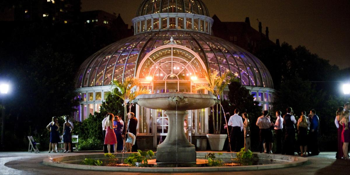 Palm House At Brooklyn Botanic Gardens Weddings Get Prices For Brooklyn Wedding Venues In