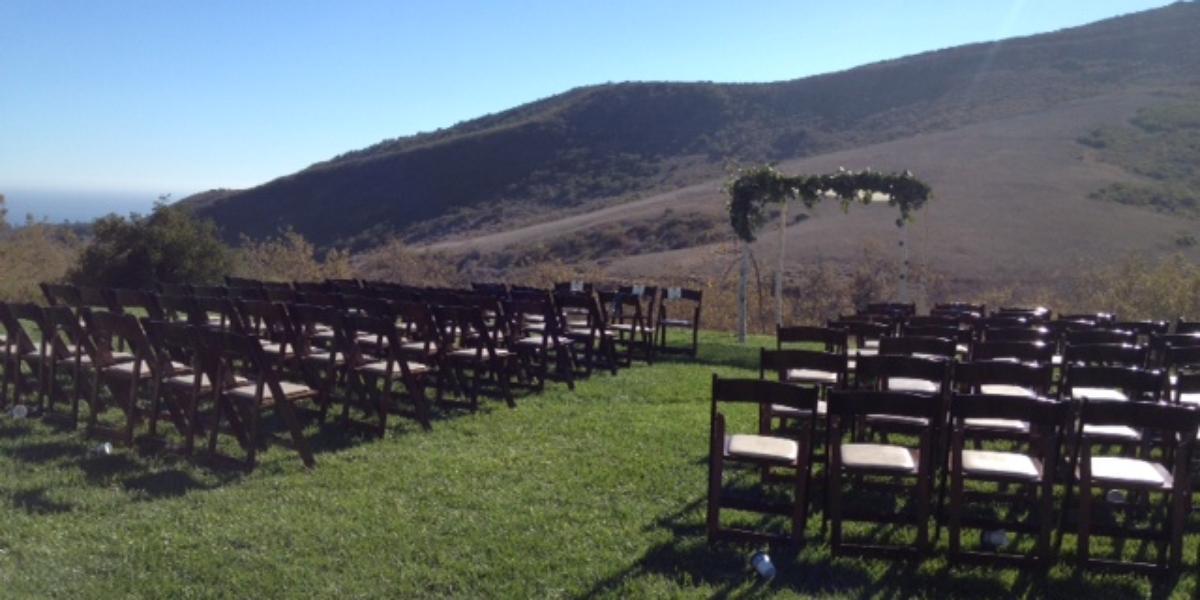 El Capitan Canyon Weddings Get Prices For Wedding Venues
