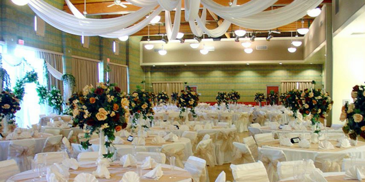 Tustin community center wedding