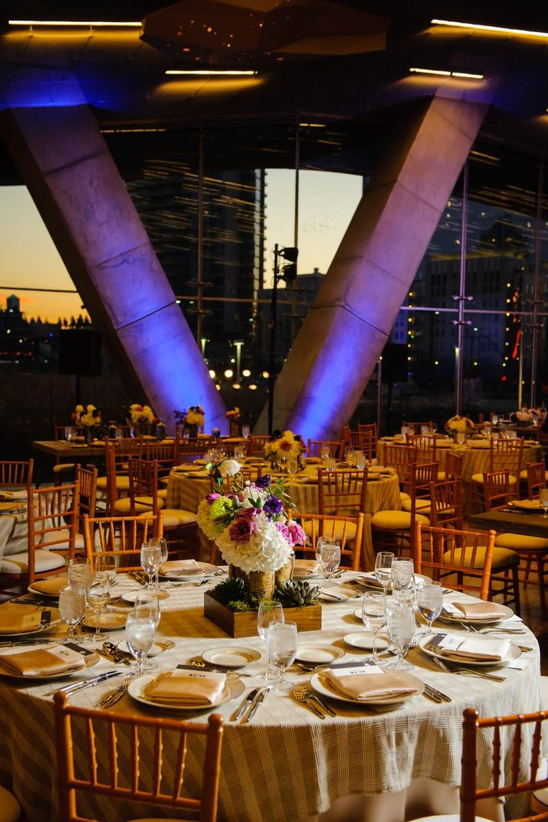 Perot Museum of Nature and Science wedding venue picture 8 of 15 - Provided by: Perot Museum of Nature and Science