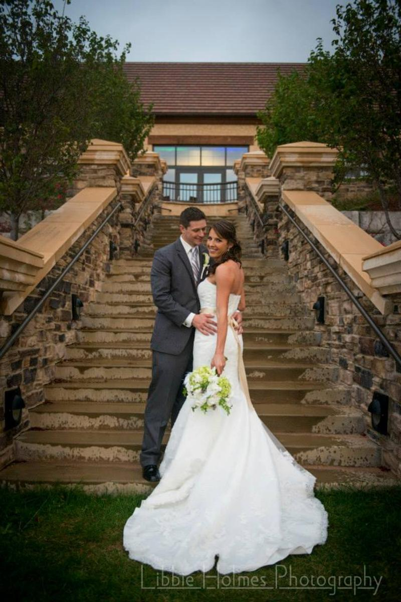 Blackstone Country Club wedding venue picture 9 of 16 - Photo by: Libbie Holmes Photography
