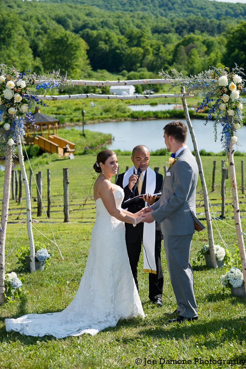 Catskill Weddings at Natural Gardens wedding venue picture 8 of 16 - Photo by: Joe Damone Photography