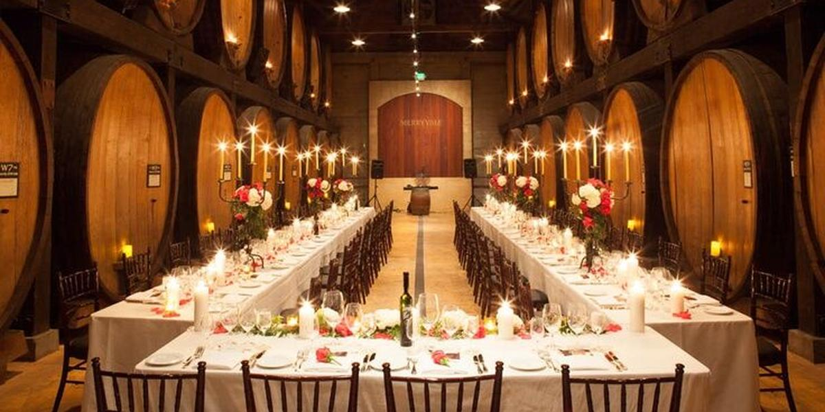 Merryvale Vineyards Weddings Get Prices For Wedding Venues In CA