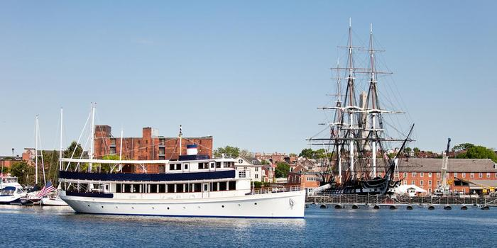 Charles Riverboat Company wedding venue picture 2 of 8 - Provided by: Cruise Boston Yacht Charters