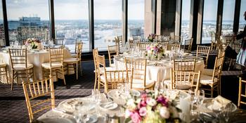 The Harbour Room at Boston College Club weddings in Boston MA