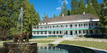 Wawona Hotel weddings in Yosemite National Park CA